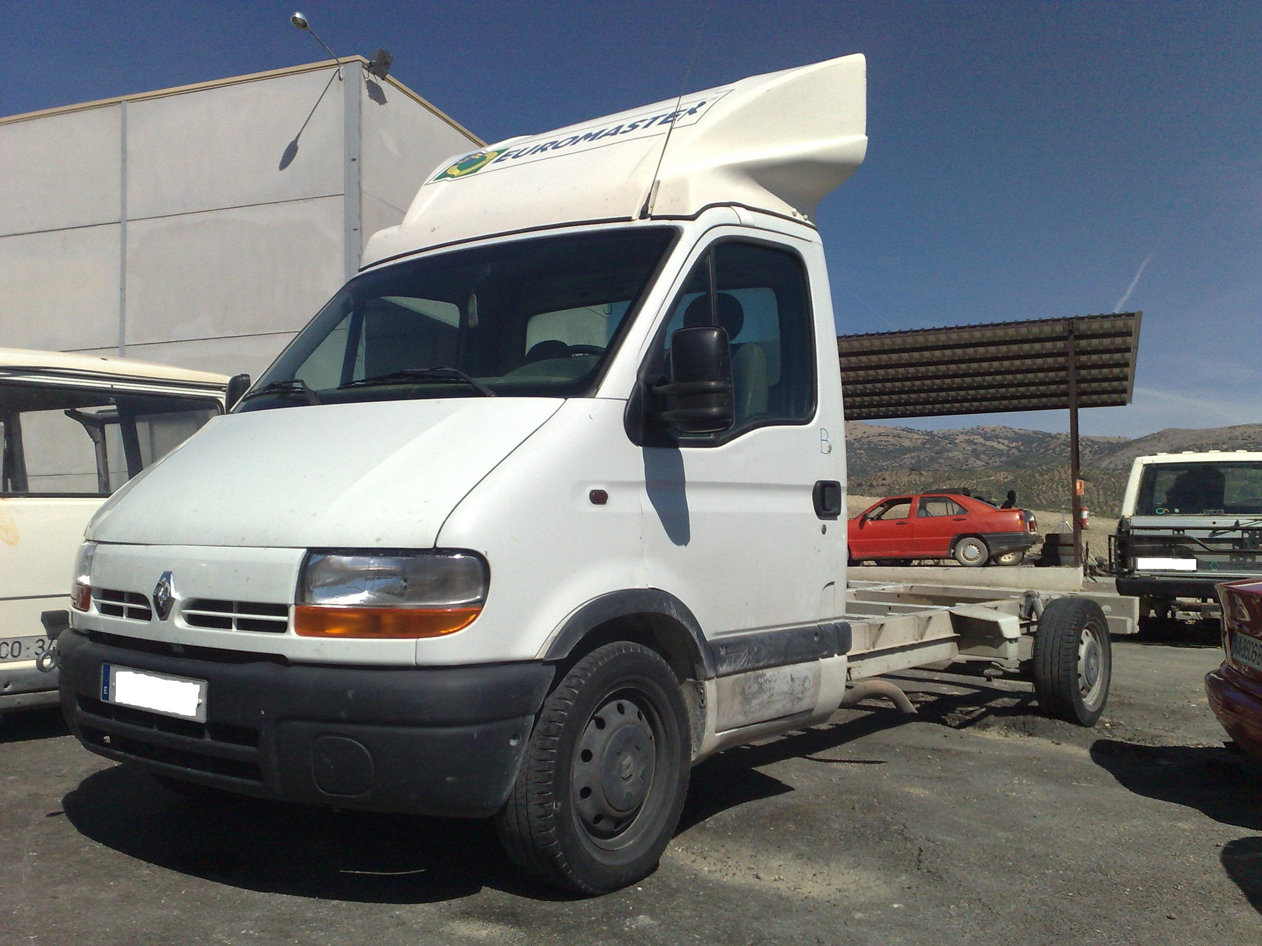 RENAULT MASTER 2.5 DCI 120 AÑO 2002